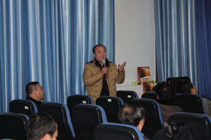上海资本运作专家郭彧老师在内蒙古师范大学授课圆满结