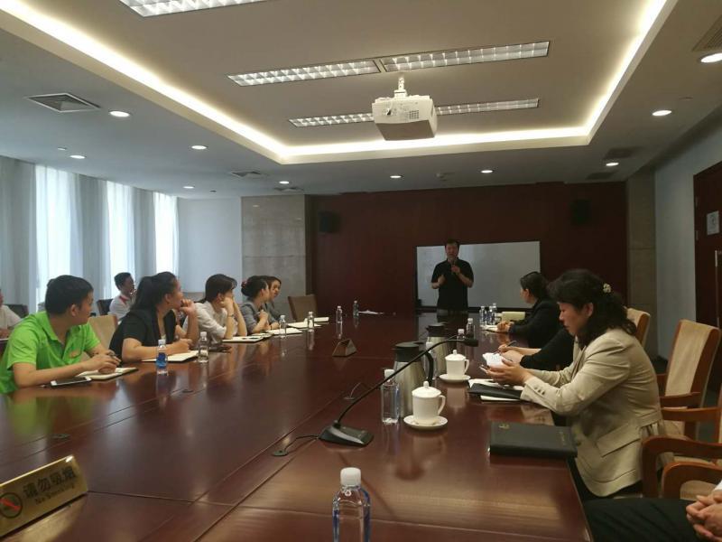 蔡元恒老师为中石化培训中层管理能力提升与团队建设