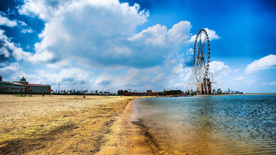 骆马湖示范区虚拟镇地图